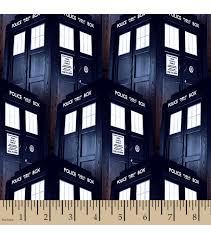 Doctor Who Tardis Cotton Fabric | Tardis, Trek and Fabrics & Doctor Who Tardis Cotton Fabric Adamdwight.com