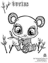 Red Combo Panda Coloring Pages Print Coloring