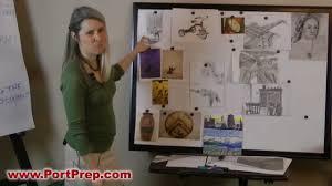 how to make an art portfolio for the illustration program