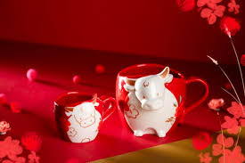 A musical start to the new year with the mr ox, our brew master! Starbucks Launches Their Bright And Adorable Chinese New Year Collection