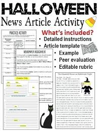 Create Newspaper Article Template Have Your Students Create A Story While At The Same Time Learning