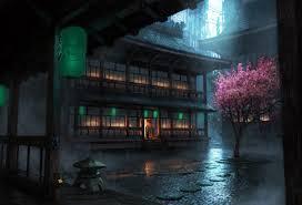 Japan, Rain, Lantern HD Wallpapers ...