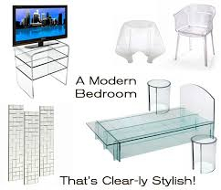 acrylic bedroom furniture. if you have a love for clear acrylic lucite or polycarbonate furniture then this u201cdreamu201d modern bedroom is the one g