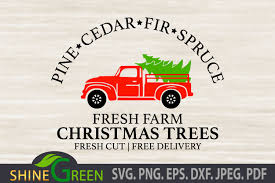 1158 x 772 jpeg 133 кб. Christmas Trees With Red Red Truck Farm Graphic By Shinegreenart Creative Fabrica