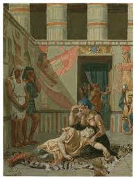 a late th century painting of act iv scene cleopatra holds a late 19th century painting of act iv scene 15 cleopatra holds antony