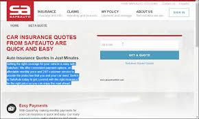 safe auto quotes magnificent top companies providing auto insurance quotes