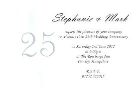 25 marriage anniversary invitation card matter in hindi interior