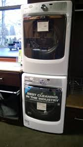 maytag stacked washer dryer.  Washer Maytag Maxima Xl Stackable Washer Dryer The Dryer Door Can Be Ordered Left  Or Right Hinged Good To Know If You Are Stacking Them So Both Have Hinges On  Throughout Stacked Washer Dryer G