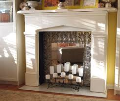 glamorous candles in fireplace ideas photo design inspiration