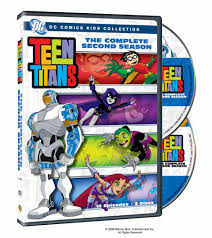 Teen titans the complete second season