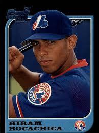 1997 Bowman Montreal Expos Baseball Card #179 Hiram Bocachica RC | eBay
