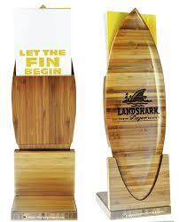 Wooden Menu Display Stands Landshark Brewery Menu Display Stands Impact Menus 21