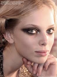 high fashion makeup extended smoky eye copyright fashionwirepress