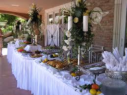 Buffet Table Decorations Ideas Christmas Buffet Table Decorations Pictures White Banquet Table