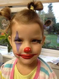 Girl Clown Face Designs Clown Face Painting For A Beautiful Girl 3 Clown Face