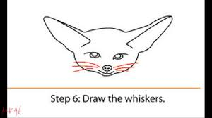 fennec fox drawing. Exellent Fox How To Draw A Fennec Fox And Drawing N
