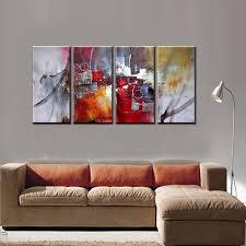 large 4 piece famous artist modern canvas wall art decorative acrylic abtract art painting ideas for on large 4 piece wall art with large 4 piece famous artist modern canvas wall art decorative