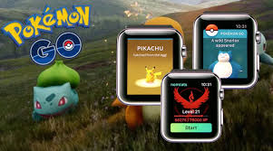 Image result for pokemon go on apple watch