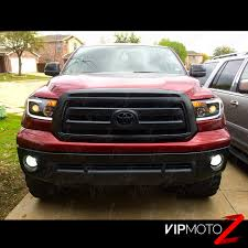 2007-2013 Toyota Tundra [Cyclop Optic] Neon Tube Black DRL ...