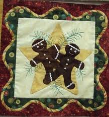24 best quilts christmas applique images on Pinterest | Christmas ... & Anitas Christmas quilt | Anitas Christmas quilt | Anita's Christmas - ... |  Gingerbread Adamdwight.com
