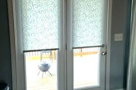 perfect front front door window blinds treatments coverings garage frosted glass adds regarding and