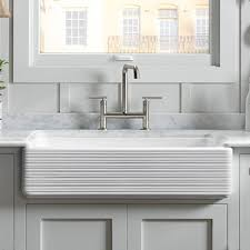 Stainless Steel Farmhouse Sinks  Kitchen Sinks  KitchenStainless Steel Farmhouse Kitchen Sinks