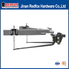 trunnion weight distribution hitch for trailer