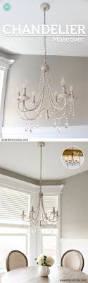 Diy Chandelier Best 25 Chandelier Makeover Ideas On Pinterest Brass Chandelier
