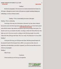 essay writing tips  there are a couple of things to notice first each page has a header a running head on it the running head is a short version of the paper title in