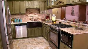 rustic french country kitchens. Colorful Kitchens French White Kitchen Cabinets Traditional Country Decor Paint Colors Rustic