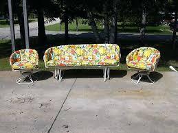 retro patio chair cushions retro outdoor glider chair mid century vintage homecrest patio lawn furniture chairs glider sofa cushions lawn furniture sofa cushions and gliders retro patio furniture uk