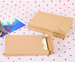 Blank Boxes To Decorate gift paper package box for postcards blank paper postcard storage 84