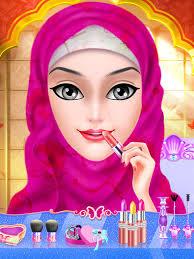 best hijab doll spa makeup salon