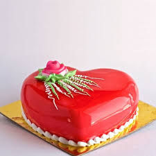 Send Heart Shape Beautiful Cake Online Free Delivery Gift Jaipur