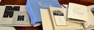 Albums Invitation Basket