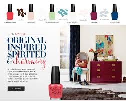 Clark And Kensington Opi Color Chart Opi Clark Kensington Wall Paint Colors Inspired By Opi