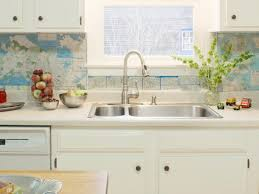 cheap kitchen backsplash ideas. Picket Fence Cheap Kitchen Backsplash Ideas