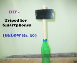 how to make a tripod at home diy tripod for smartphones below rs 20