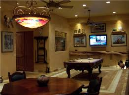 Home Interiors:Simple Basement Game Room Ideas For Basement Remodel  Decoration Luxury Game Room Office