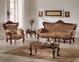Design Of Wooden Sofa Set With Pictures