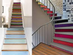 amazing of staircase wall painting ideas design crative