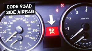 Bmw 3 Series Airbag Light Bmw E90 E91 E92 E93 Airbag Light On Code 93ad Side Airbag