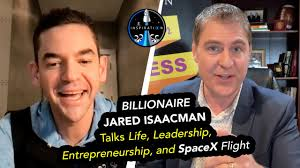 Isaacman's announcement follows last week's report of a private mission, also on a spacex. Billionaire Jared Isaacman Talks Life Leadership Entrepreneurship And Spacex Flight Youtube