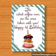 First Birthday Quotes Custom 48st Birthday Card Messages 48st Birthday Wishes First Birthday Quotes