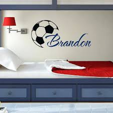 magnificent soccer decals for bedroom h45105 soccer wall decor sports wall decals ideas on on wall premium soccer decals for bedroom