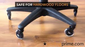 chair casters for hardwood floors puter chair wheels