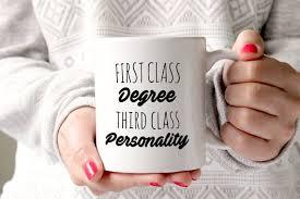 First Class Degree Custom First Class Degree Gift Graduation Gift University Gift Etsy