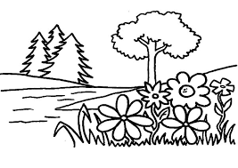 Small Picture Flower Garden Coloring Pages Color Luna