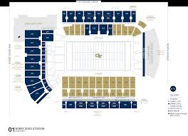 Georgia Tech Basketball Stadium Seating Chart Seating Charts Georgia Tech Yellow Jackets
