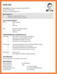 8 Curriculum Vitae Apply A Job Bussines Proposal 2017